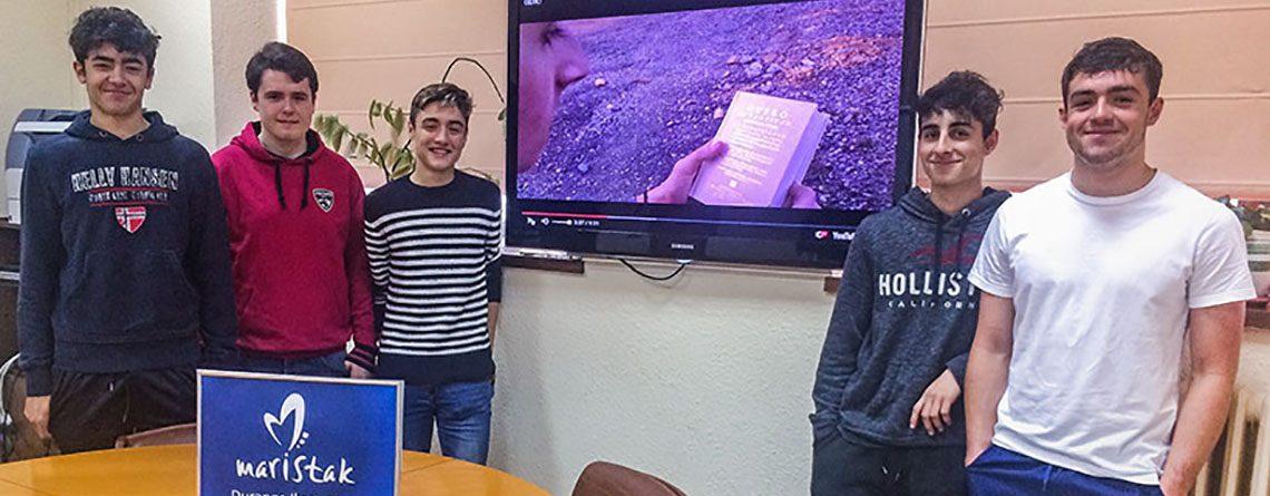 Cinco alumnos de Maristak son premiados por su divulgación del patrimonio vasco