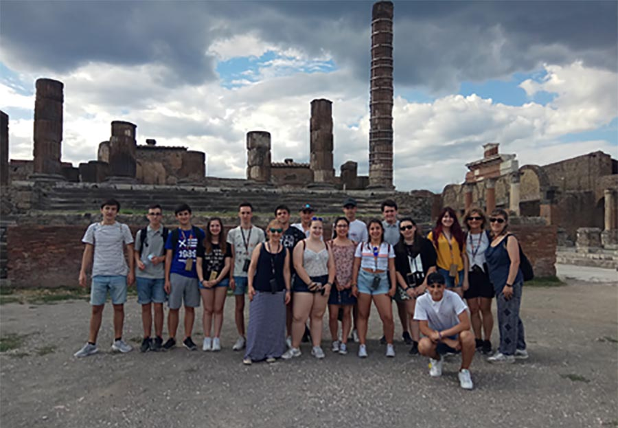 Viaje Cultural a Nápoles, Kultura Ondarea Saria 2018