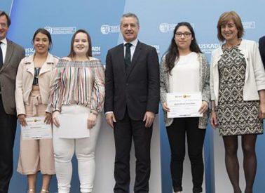 El Gobierno Vasco otorga un premio al Instituto Minas de Barakaldo por un vídeo sobre la inmigración