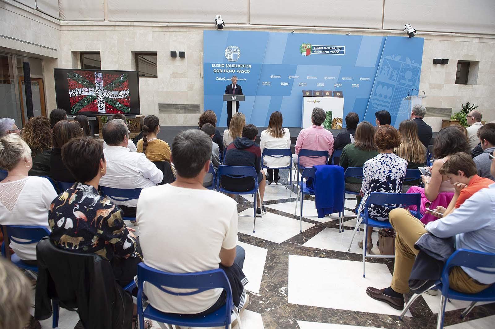 Kultura Ondarea Saria 2019 entrega de premios